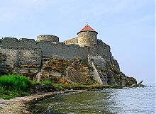 Північно-східний вид на фортецю в Білгород-Дністровському