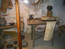 Экспозиция черняховской культуры отдела древностей исторического музея в Каменце