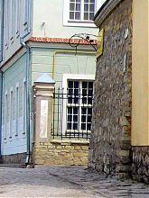 Юго-западный угол старого дома Духовной семинарии Каменца