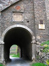 Ветряные ворота Скорняжной башни Каменец-Подольского