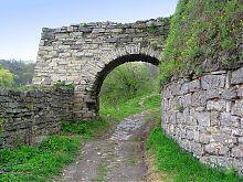 Михайловские ворота северного оборонного узла Каменец-Подольского