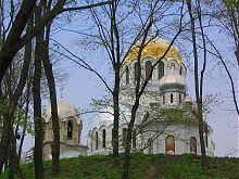 Південно-західний фасад Олександро-Невського Храму в Кам'янець-Подільському