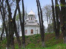 Каплиця біля собору в ім'я святого Олександра Невського Кам'янця