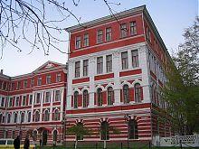 Юго-западный фасад Национального университета Каменца