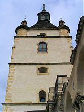 Південно-західний фасад вежі колишнього Миколаївського вірменського собору в Кам'янець-Подільському
