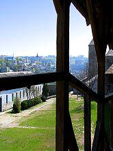 Вежа-дзвіниця колишнього вірменського собору над Старим містом у Кам'янець-Подільському
