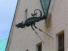 Дом с драконом Каменец-Подольского