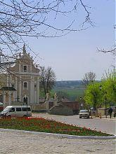 Костел святого Иосафата на площади Армянский рынок Старого города в Каменце