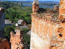 Там де Бугжек стає Бугом біля стін Меджібожського замку