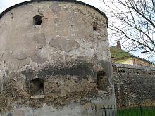 Вежа зовнішньої лінії оборони комплексу домініканського монастиря Жовкви