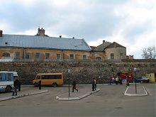 Западный фасад жолкевского монастырского комплекса братьев-проповедников