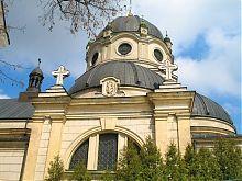 Купольне завершення жолкевського Троїцького костелу Василіанського монастиря