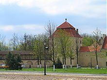 Юго-восточная часть оборонной стены жолкевских крепостных укреплений