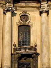 Портал центрального входа львовского Доминиканского собора