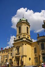 Колокольня львовского костела святой Евхаристии
