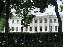 Губернаторский дом в Корпусном саду Полтавы