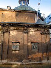 Східний фасад каплиці Боїмів у Латинського собору Львова