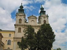 Центральный фасад органного зала Львова