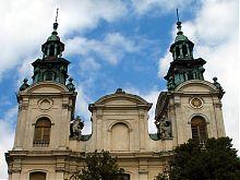 Башни костела Марии Магдалины Львова