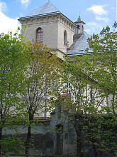 Северный фасад львовского комплекса монастыря святого Лазаря