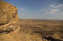 """Заповедник """"Каменные могилы"""" на границе Донецкой и Запорожской областей"""