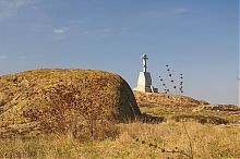 Мемориал памяти погибшим русичам в государственном заповеднике Каменные могилы