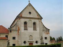 Костел святого Иосифа монастырского комплекса капуцинов в Олеско