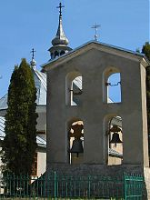 Колокольня перемышлянского храма св. Николая
