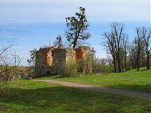 Північно-західний фасад східної оборонної вежі Свірзького замку