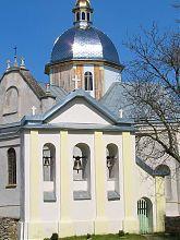 Колокольня свиржского Успенского костела в Свирже