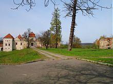 Центральна аллея парка в Свирже