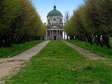 Липова алея до Підгорецького костелу Воздвиження та святого Йосипа