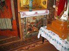 """Ікона """"Вихід з Єгипту"""" в церкві святого Миколая в Сасіві"""