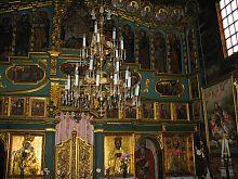 Іконостас сасівської дерев'яної Миколаївської церкви в Сасові