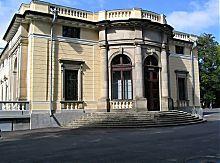 Боковая прогулочная терраса дворца княгини Щербатовой в Немирове