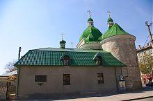 Хозяйственный корпус Рождественского храма в Тернополе