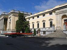 Центральный фасад дворца княгини Щербатовой в Немирове