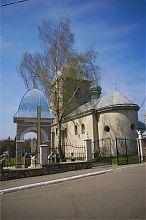 Східний фасад Воздвиженської церкви в Тернополі