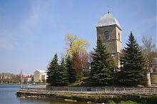 Західний фасад тернопільської Воздвиженської церкви