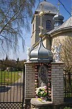 Капличка Діви Марії у Воздвиженського храму Тернополя