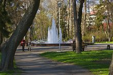 Фонтан в парке им. Т.Г. Шевченко Тернополя