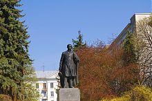 Памятник А.С. Пушкину в одноименном сквере Тернополя