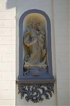 Статуя Діви Марії тернопільського костелу колишнього ордена домініканців