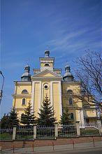 Східний фасад храму Успіння Пресвятої Богородиці Тернополя