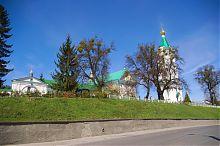 Восточный фасад комплекса кременецкого Богоявленского монастыря