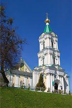 Храм Богоявления и надвратная колокольня в Кременце