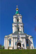 Надвратная колокольня кременецкого женского монастыря