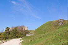 Вершина наивысшей волынской горы Бона