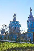 Північний фасад церкви Воздвиження в Кременці