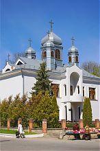 Южный фасад лютеранского храма Креста Господня в Кременце